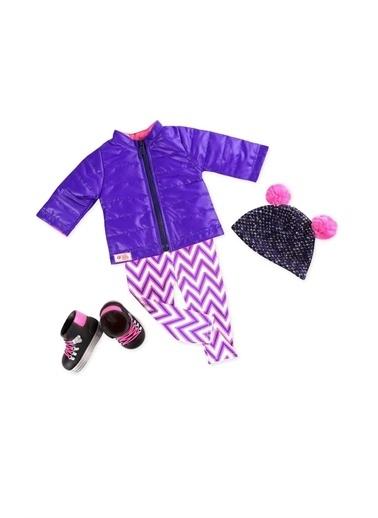 Our Generation Our Generation Kış Yürüyüş Oyuncak Bebek Kıyafet Seti Renkli